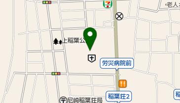 関西労災病院の地図画像