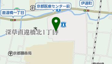 国立病院機構 京都医療センターの地図画像
