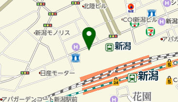品川スキンクリニック 新潟院の地図画像