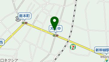 益城歯科医院の地図画像