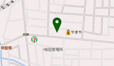 ホワイト歯科医院の地図画像