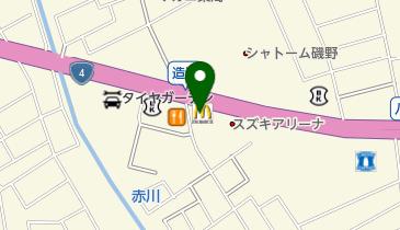 マクドナルド 青森東バイパス店の地図画像
