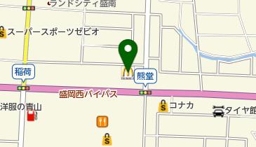 マクドナルド 盛岡西バイパス本宮店の地図画像