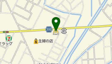 マクドナルド 鶴岡IZMO店の地図画像