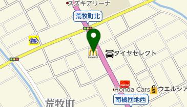 マクドナルド 前橋荒牧店の地図画像