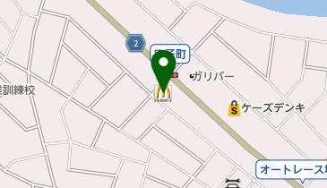 マクドナルド 伊勢崎宮子町店の地図画像