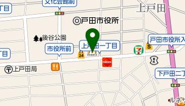 マクドナルド 戸田市役所南通り店の地図画像