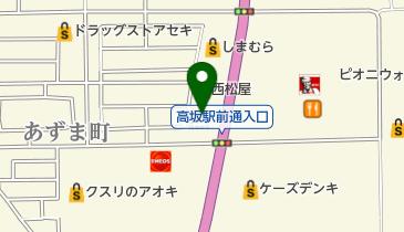 マクドナルド 407高坂店の地図画像