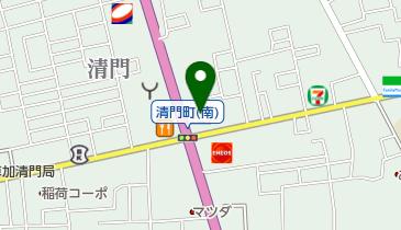 マクドナルド 4号線草加清門町店の地図画像
