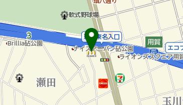 マクドナルド 用賀インター店の地図画像