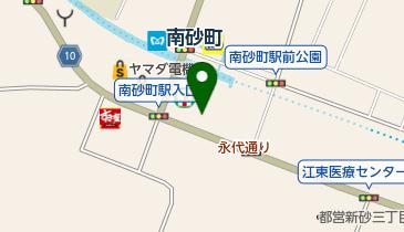 マクドナルド 南砂町店の地図画像