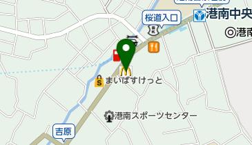 マクドナルド 港南中央店の地図画像