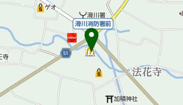 マクドナルド 滑川パスタ店の地図画像