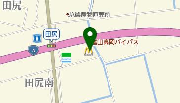 マクドナルド 8号線田尻店の地図画像