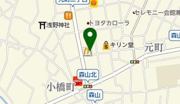 マクドナルド 金沢元町店の地図画像