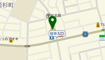 マクドナルド 福井若杉店の地図画像