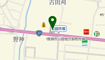 マクドナルド 敦賀アクロスプラザ店の地図画像