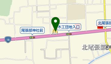 マクドナルド 18号長野店の地図画像