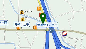 マクドナルド 安曇野インター店の地図画像
