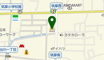 マクドナルド 松本筑摩店の地図画像