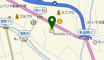 マクドナルド 多治見インター店の地図画像
