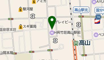 マクドナルド 高山駅西店の地図画像