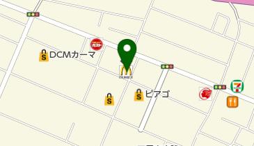マクドナルド 四日市久保田店の地図画像