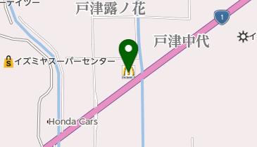 マクドナルド 1号線八幡店の地図画像
