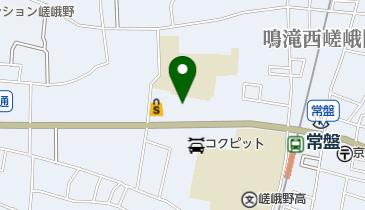 マクドナルド 丸太町常盤店の地図画像