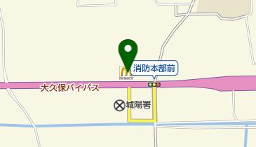 マクドナルド 24号城陽店の地図画像