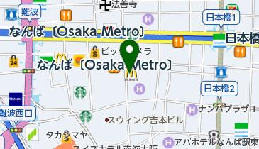 マクドナルド 千日前店の地図画像