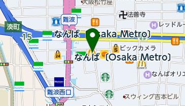 マクドナルド 戎橋南店の地図画像