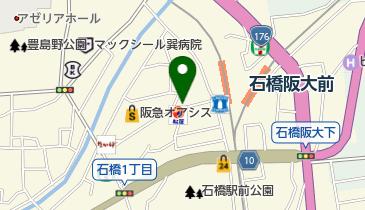 マクドナルド 石橋店の地図画像