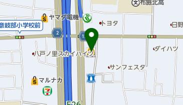 マクドナルド 東大阪岩田店の地図画像