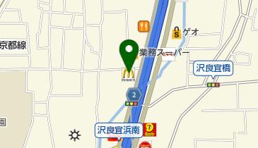マクドナルド 中環茨木店の地図画像