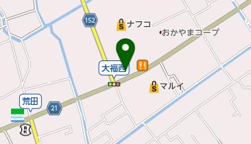 マクドナルド 岡山大福店の地図画像