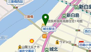 マクドナルド 白島店の地図画像