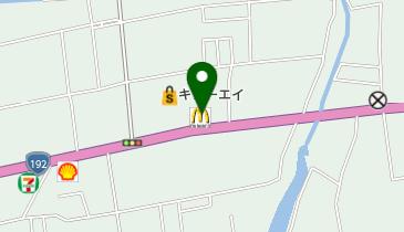 マクドナルド 徳島石井店の地図画像