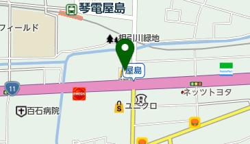 マクドナルド 屋島店の地図画像