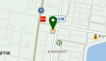 マクドナルド 高松サン・フラワー通り店の地図画像