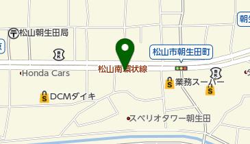 マクドナルド 松山南店の地図画像