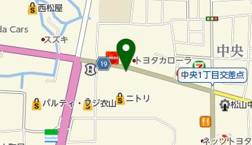 マクドナルド 松山中央通り店の地図画像