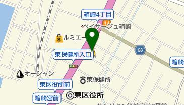 マクドナルド 3号線箱崎店の地図画像