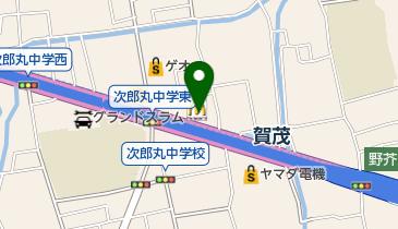 マクドナルド 外環賀茂店の地図画像