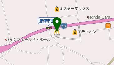 マクドナルド 202唐津店の地図画像