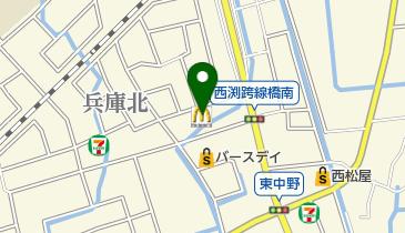 マクドナルド 佐賀東部環状店の地図画像