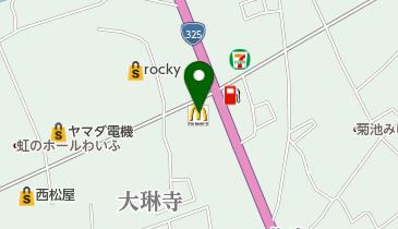 マクドナルド 325菊池店の地図画像