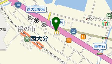 マクドナルド 10号西大分店の地図画像