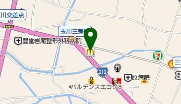 マクドナルド 日田店の地図画像
