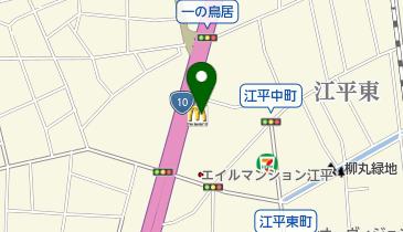 マクドナルド 江平店の地図画像